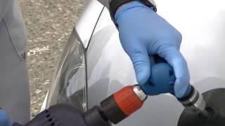 Naprawsam - Maskowanie odprysków na karoserii samochodowej - Polerowanie