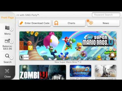 GS News - Preowned Wii U consoles allow free game downloads