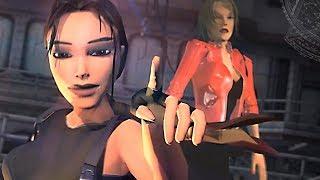 Bouchard is dead... dead! Miss Kittin - Frank Sinatra (Tomb Raider Animation Parody)