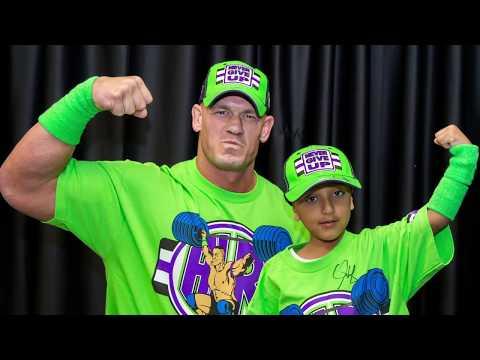 John Cena Makes Garrison's Dream Come True