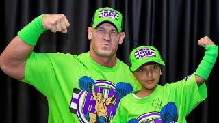 John Cena Makes Garrison's Dream Come True
