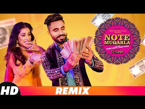 Note Muqabla (Remix) | Goldy Desi Crew ft Gurlej Akhtar | Sara Gurpal | Latest Songs 2018