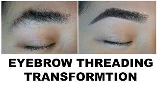 Eyebrow Threading Transformation!