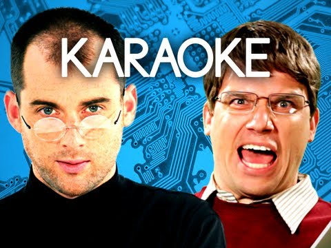 [KARAOKE ♫] Steve Jobs vs Bill Gates. Epic Rap Battles of History. [INSTRUMENTAL]