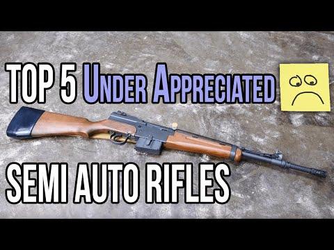 Top 5 Under Appreciated Semi Auto Rifles