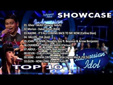 MP3 INDONESIAN IDOL 2018 - SHOWCASE TOP 10