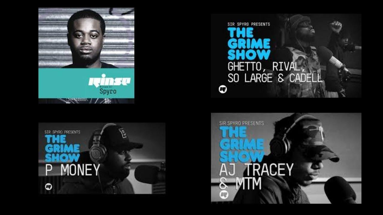 UK GRIME MUSIC: Grime Show: Best Bits (Aj Tracey,Ghetts,Frisco,D double e)