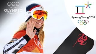 Ester Ledecka gets 2nd gold in parallel giant slalom | Day 15 | Winter Olympics 2018 | PyeongChang