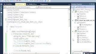 Tự học C# Kỹ thuật lập trình với biến số nguyên
