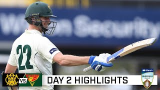 Tassie bats bury WA under mountain of runs | Marsh Sheffield Shield 2020-21