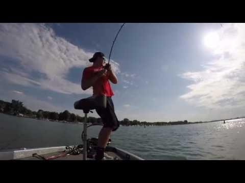 Lake Erie Summer Bass Fishing