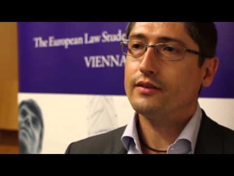 2nd ELSA Vienna Law School on Dispute Resolution 2013 - Sunday/Monday
