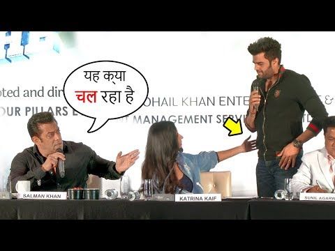 Salman Khan FIGHTS With Gf Katrina Kaif For FLIRTING With Manish Paul At Da Bangg Tour Pune 2018