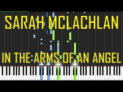 Sarah Mclachlan In The Arms Of An Angel Piano Tutorial Chords