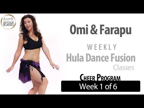 Hula Dance Fusion Weekly: Beginner (Week 1 of 6) Cheer