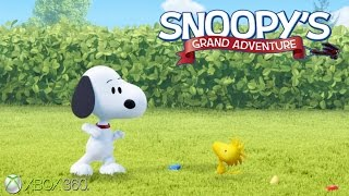 The Peanuts Movie: Snoopy's Grand Adventure - Xbox 360 Gameplay (2015)