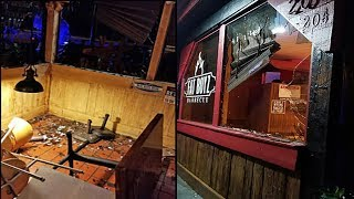 WST Vandalize Fat Boyz BBQ For Assuming Black Owner Was Dating White Sister