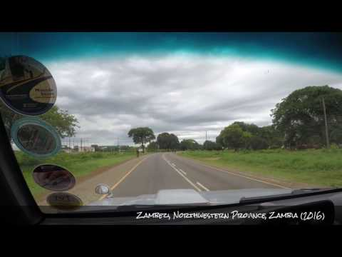 Drive Through Zambia ---(Chavuma - Zambezi)