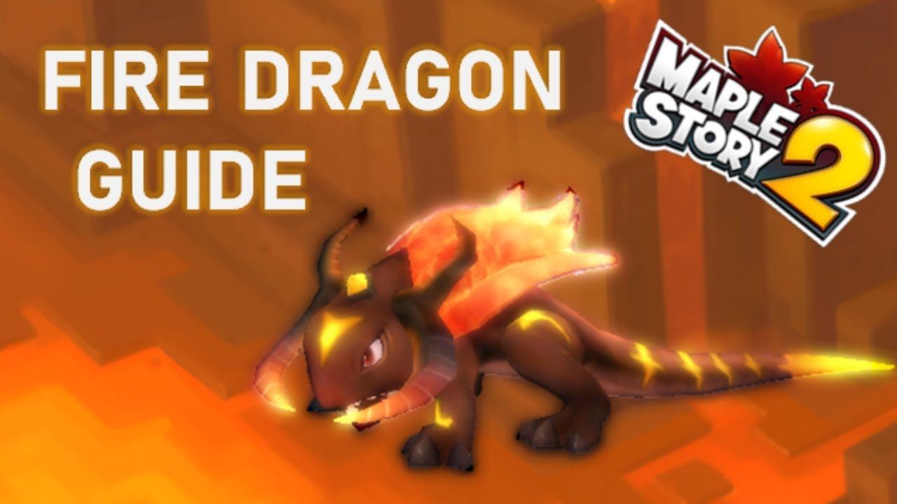 How To Beat Fire Dragon Solo In MapleStory 2