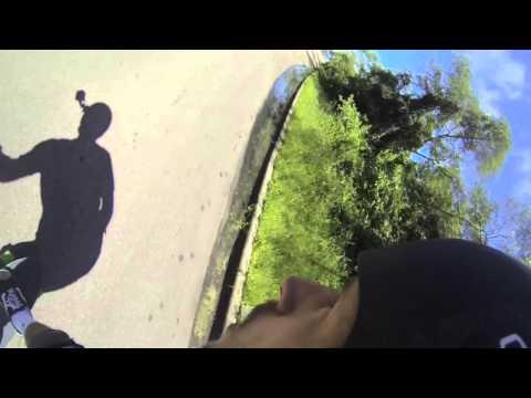 Nando RAW Run Longboard Downhill GoPro