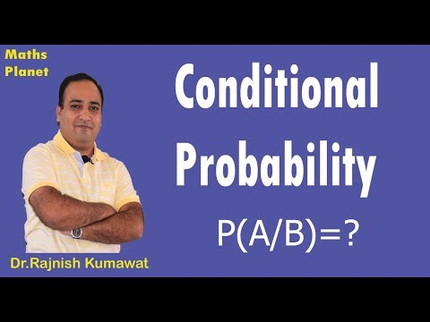 Class 12 Maths || Conditional Probability  Part -1|| By Maths Planet