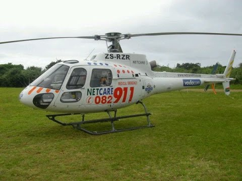 Search & Rescue Helicopter Coastal Flight