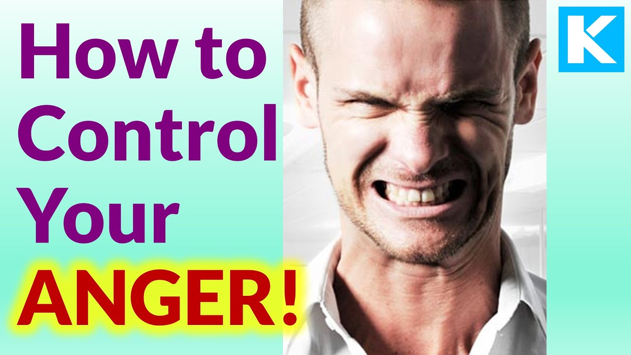 Best Way To Get Rid Of Anger