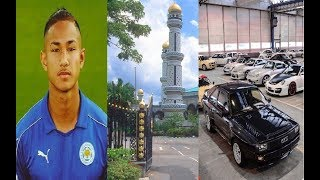 Faiq Bolkiah. el futbolista más rico del mundo y tiene 19 años que casi nadie lo conoce
