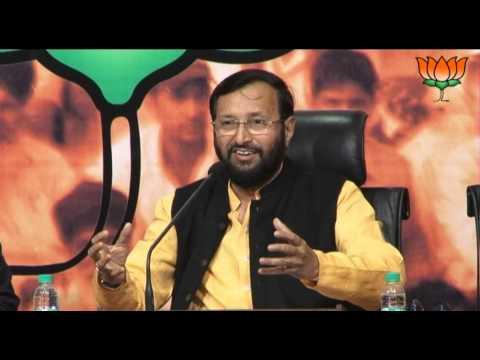 BJP Press: Approval of 12th five year plan By NDC : Sh. Prakash Javadekar: 28.12.2012