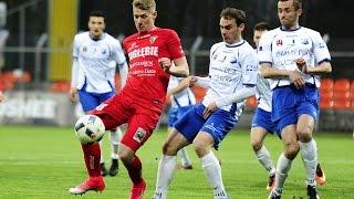 MKS Kluczbork - Zagłębie Sosnowiec 0:4, 8 kwietnia 2017, skrót meczu