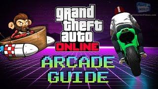 GTA Online - Arcade Games Guide (How to Unlock All Arcade Rewards)