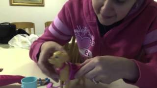 Poop Everywhere! Barbie Potty Training dog Review!