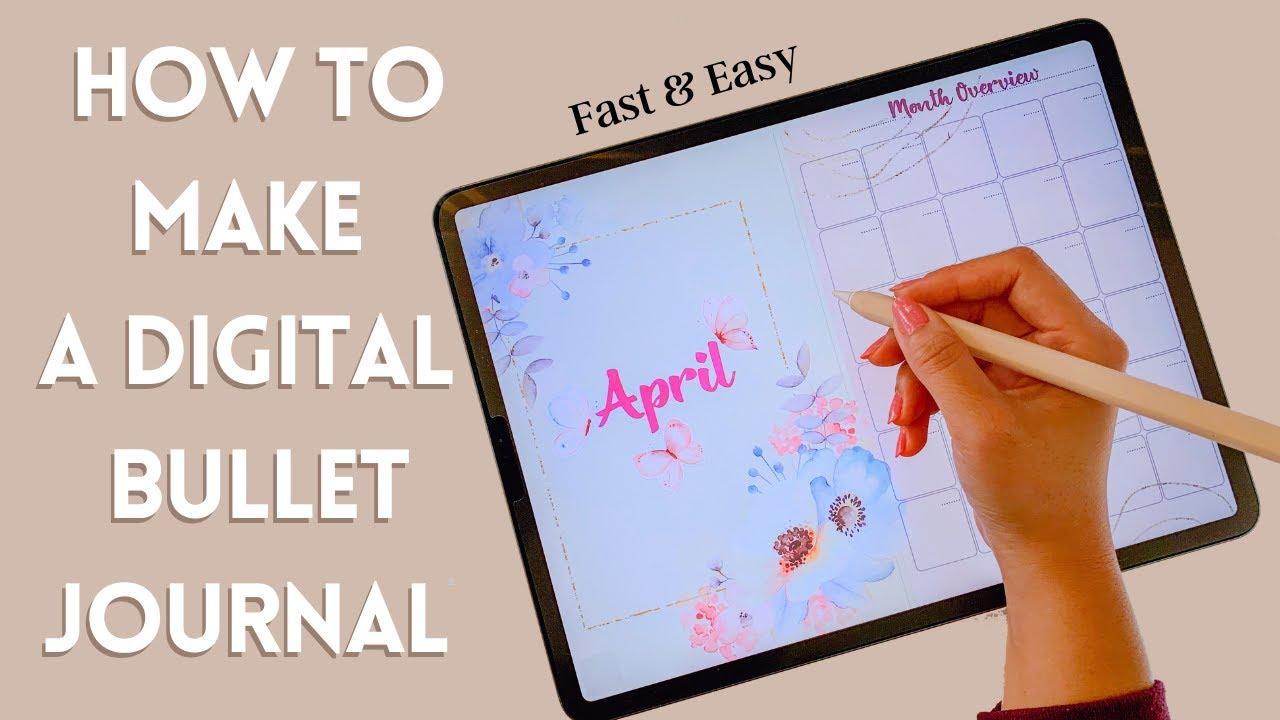 Digital Bullet Journal Template from i.ytimg.com