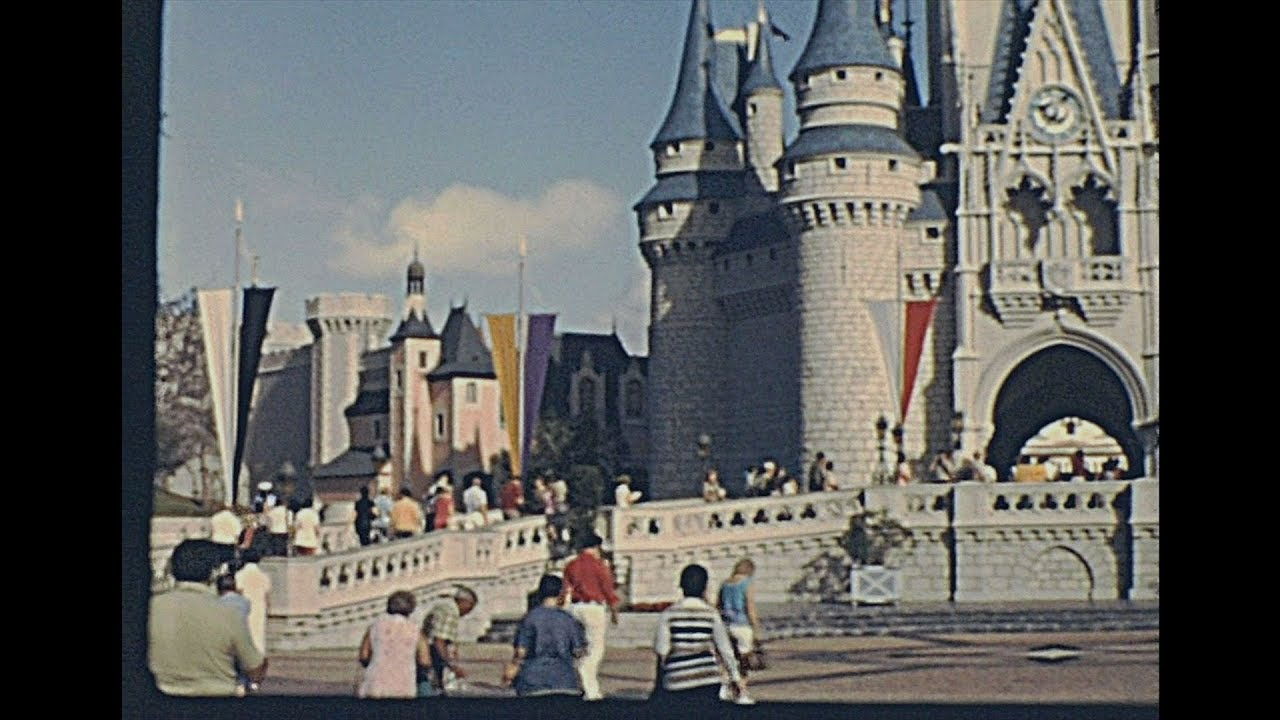 Walt Disney World 1976 – Archive Footage
