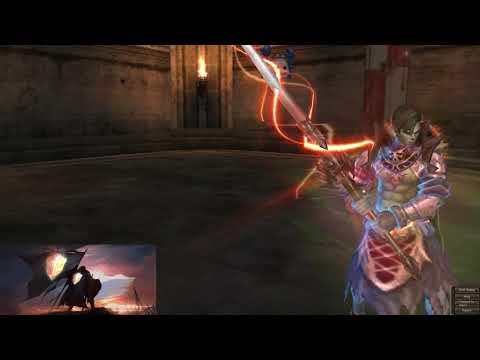 Lineage 2 Salvation NA Naia server - spamming new sigel knight skills at oly