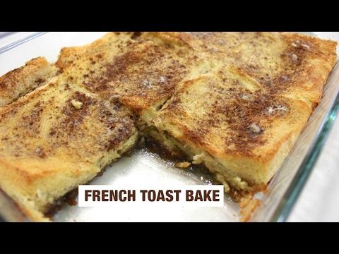 Baked French Toast: French Toast Casserole (Overnight)