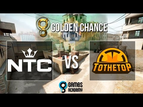 [POV] Golden Chance #1 - NTC vs. To The Top (Mapa 1 - Dust 2) - Semi-Final