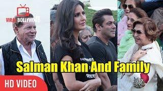 Salman Khan And Family | Katrina Kaif | Salim Khan | Helen