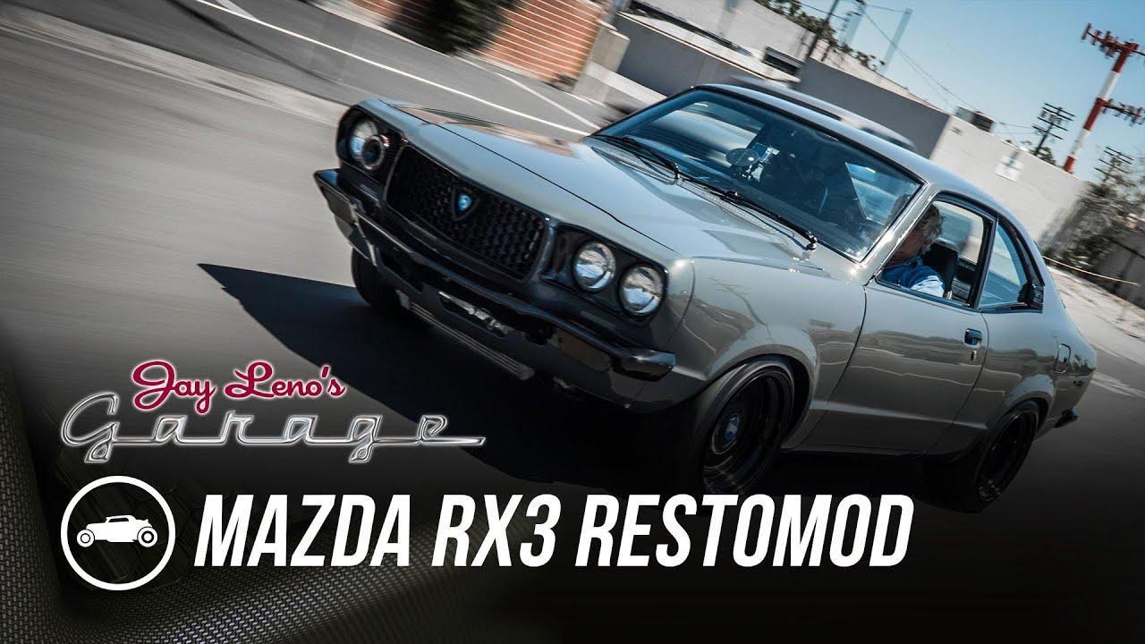 1973 mazda rx3 restomod jay leno s garage youtube