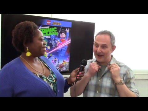 Andy Milder Lightning Lad Lego DC Cosmic Clash Toon Talk