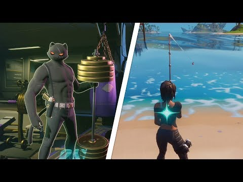 Deliver Fish To SHADOW / GHOST Locations - Fortnite Challenge