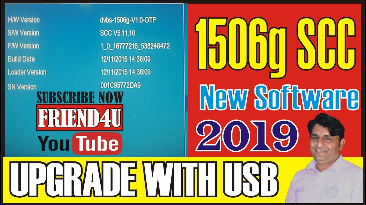 1506G SCC NEW SOFTWARE 2019 NO MATCH FILE ERROR FIX UPGRADE WITH USB BY  FRIEND4U