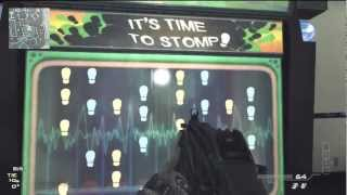 MW3 Dance Dance Revolution Gameplay - Boardwalk Map - Arcade