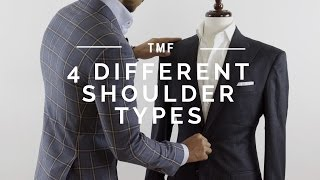 4 Different Shoulder Types | Structured, Unstructered, Spalla Camicia, & Con Rollino