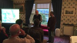 Conversation with Ruskin: Artist Talk at Brantwood, Coniston, UK