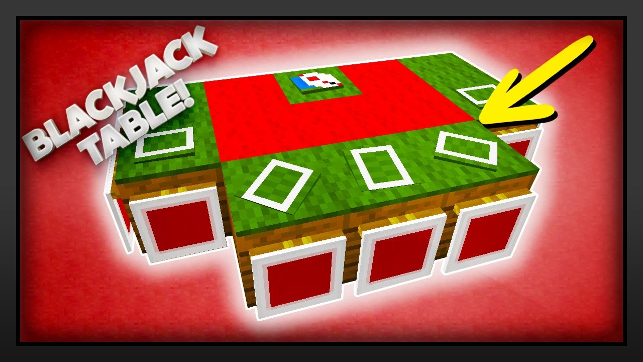 Virtual blackjack table - Minecraft How To Make A Blackjack Table