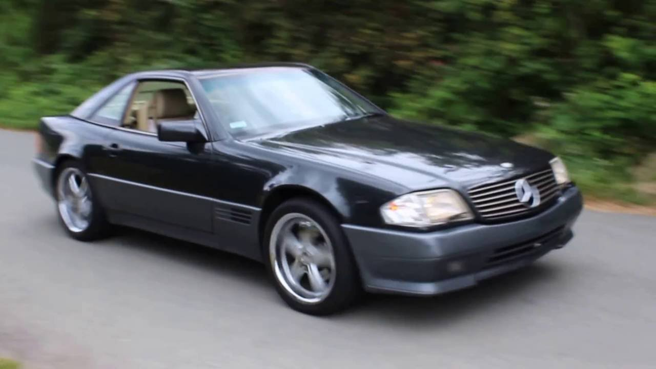 For sale 1990 mercedes benz 500 sl convertible youtube for Mercedes benz sl convertible for sale