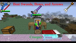 Tinkers Construct Tutorial Best Swords, Bows, And Arrows