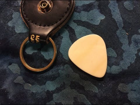how-to-hand-craft-a-bone-guitar-pick-from-scratch