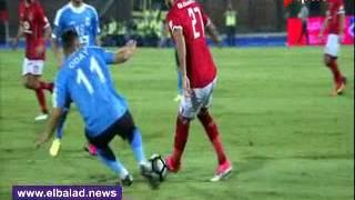 شاهد .. مهارة «ميدو جابر» أمام لاعب الفيصلي الأردني